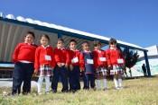 El preescolar de San Vicente Ferrer ya cuenta con su arcotecho
