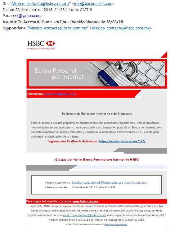 hsbc banca personal