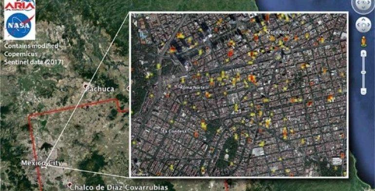 NASA Condesa Roma y Zona Rosa son lo ms daado tras sismo