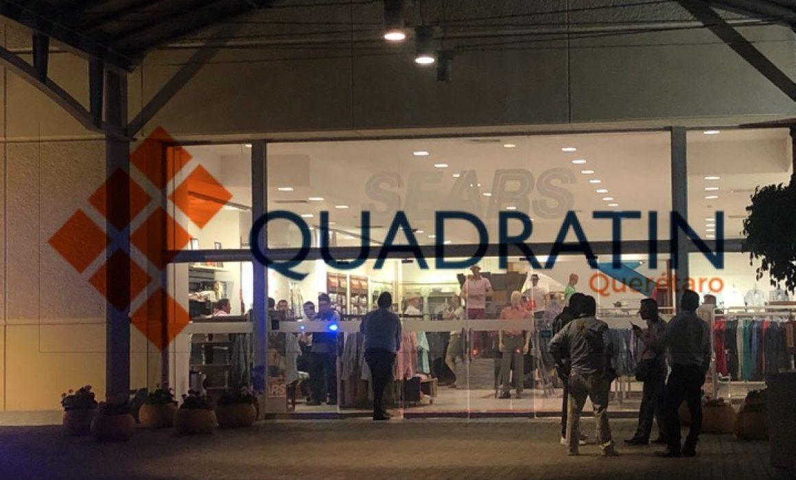 754a202db Robo desata movilización policial en Sears - Quadratin Querétaro