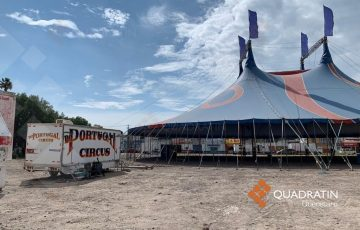 Muere hombre tras caída de gran altura en circo en Santa Rosa Jáuregui - Quadratín Querétaro