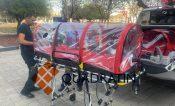 Llegan a Querétaro cabinas aislantes para pacientes Covid 19